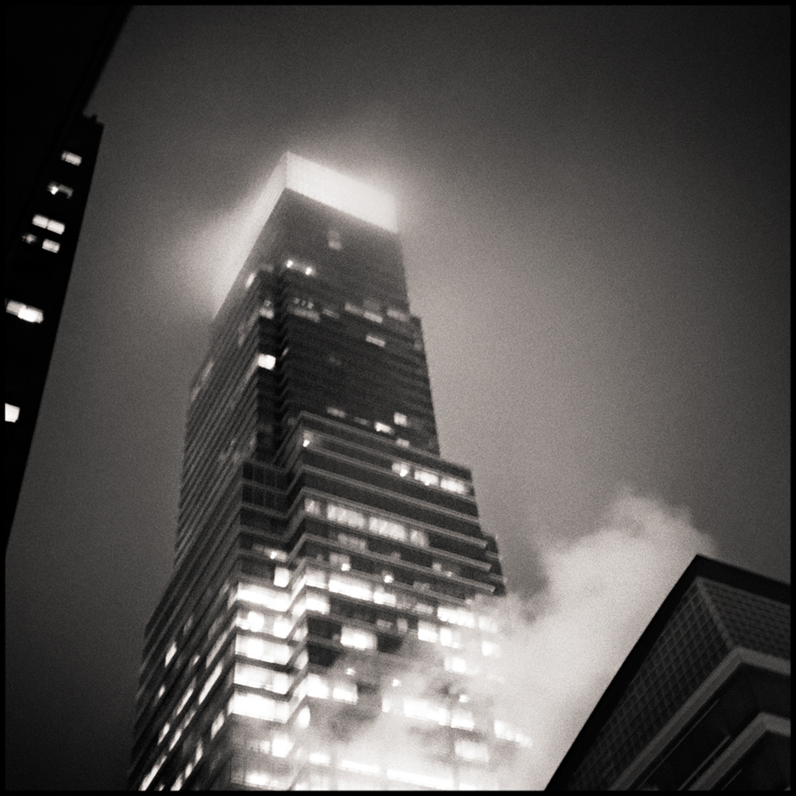 Sean Perry Photographs • One Beacon at Night, from the series Gotham