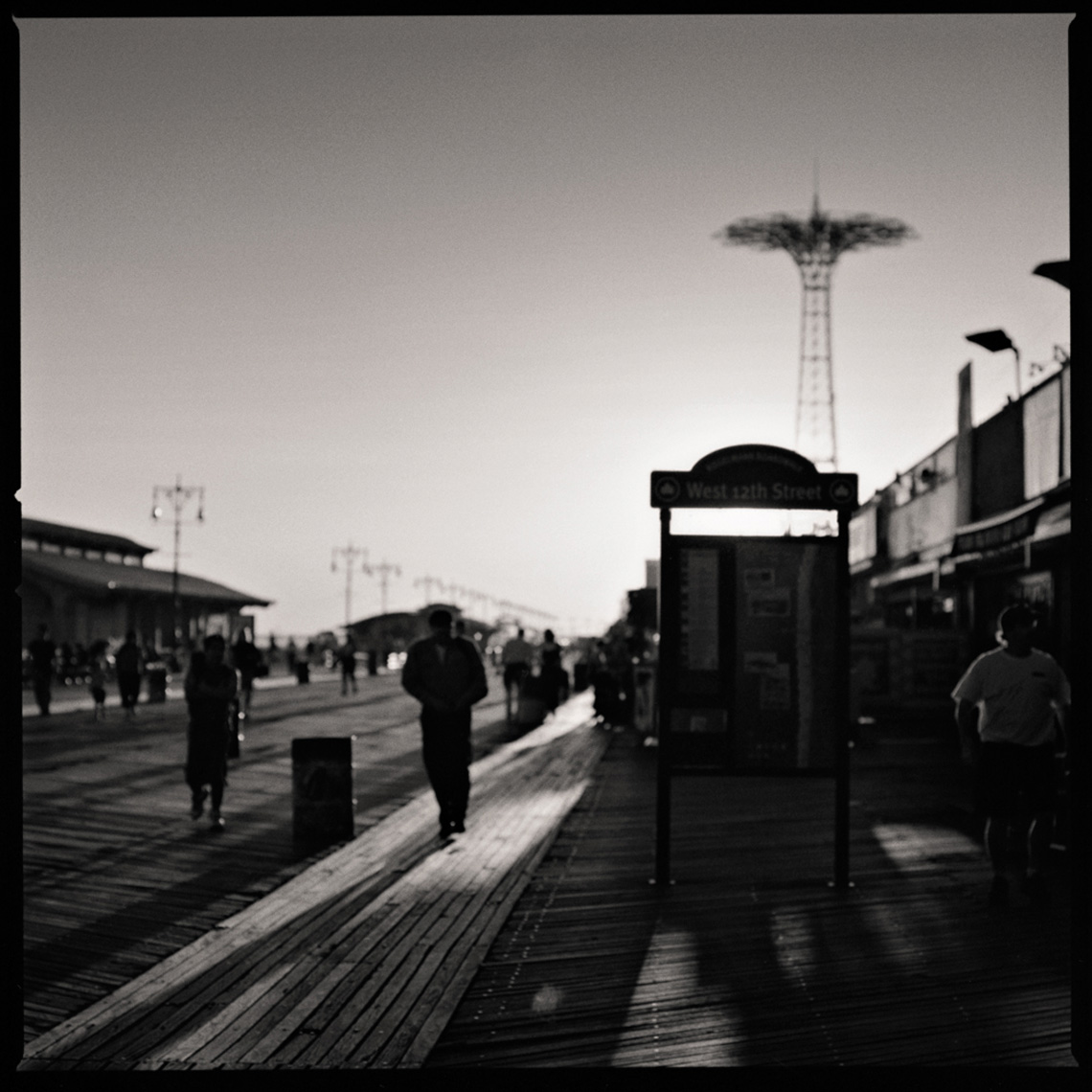 Sean Perry Photographs • Coney Island 1939, from the series Gotham