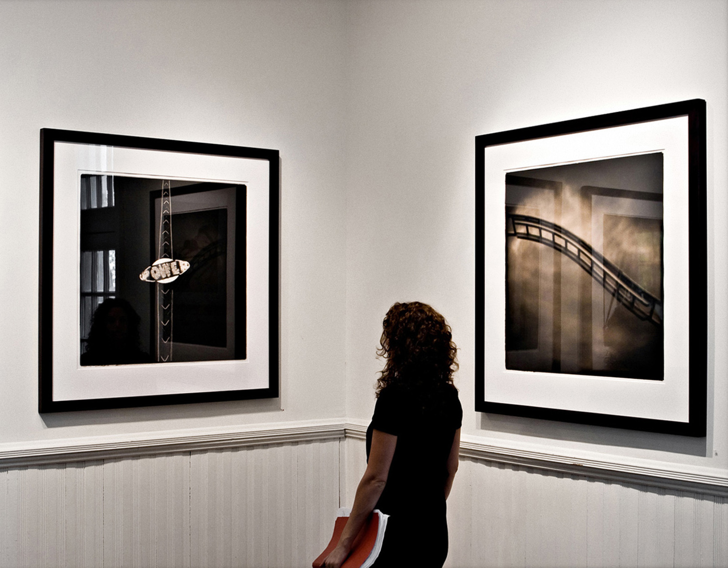Sean Perry Photographs • Fairgrounds Installation, Stephen L. Clark Gallery