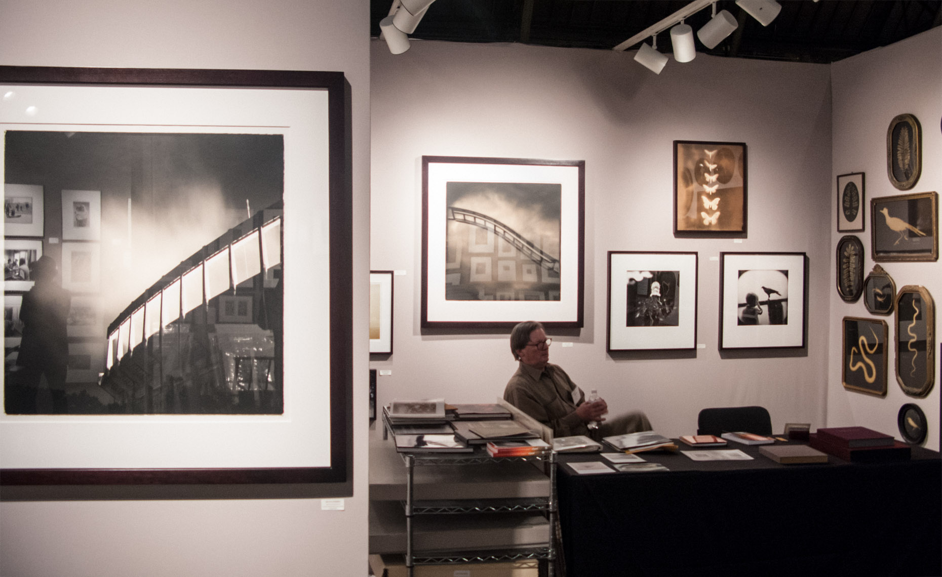 Sean Perry Photographs • Installation at AIPAD Photography Fair, NYC