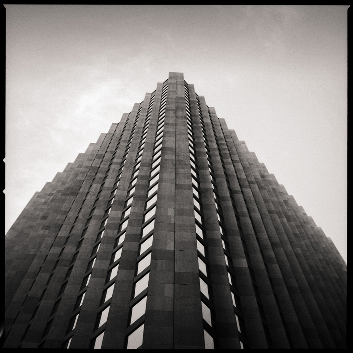 Sean Perry Photographs • The CBS Building, from the series Monolith