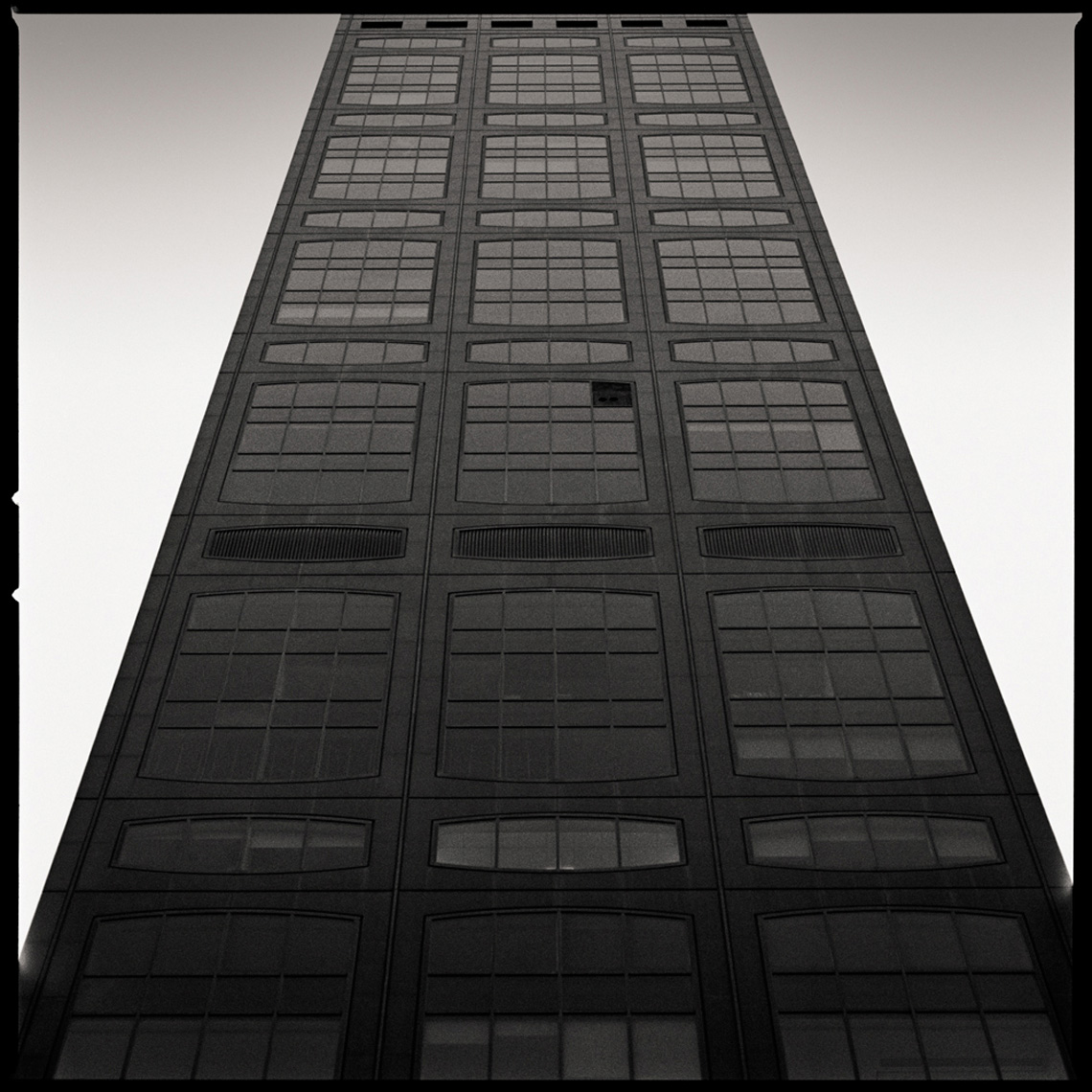 Sean Perry Photographs • Franklin National Bank Building, from the series Monolith