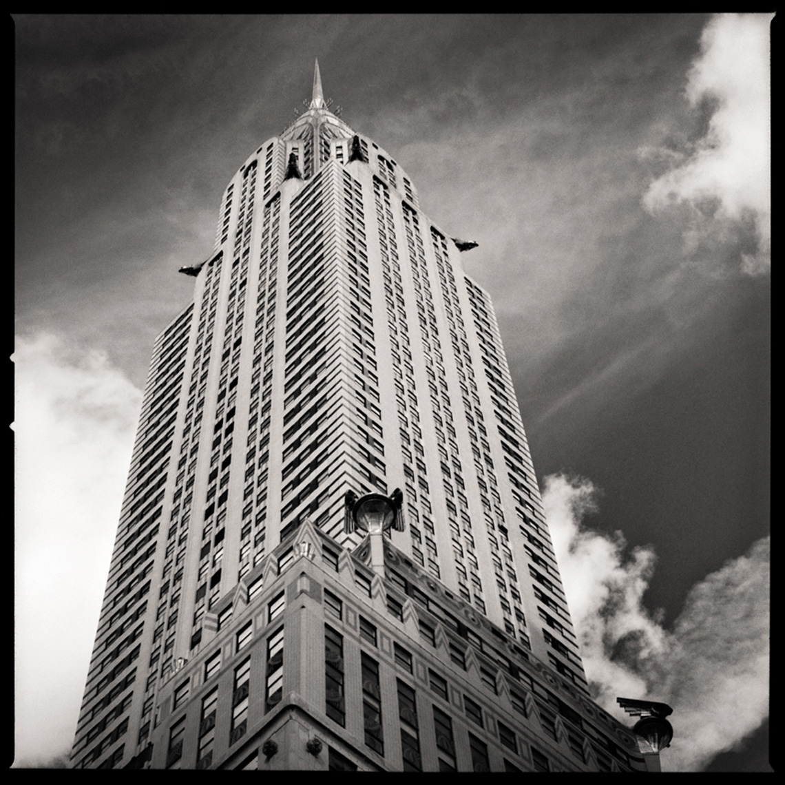 Sean Perry Photographs • The Chrysler Building, from the series Monolith