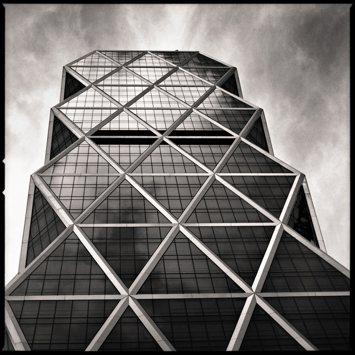 Sean Perry Photographs • Hearst Tower, from the series Monolith