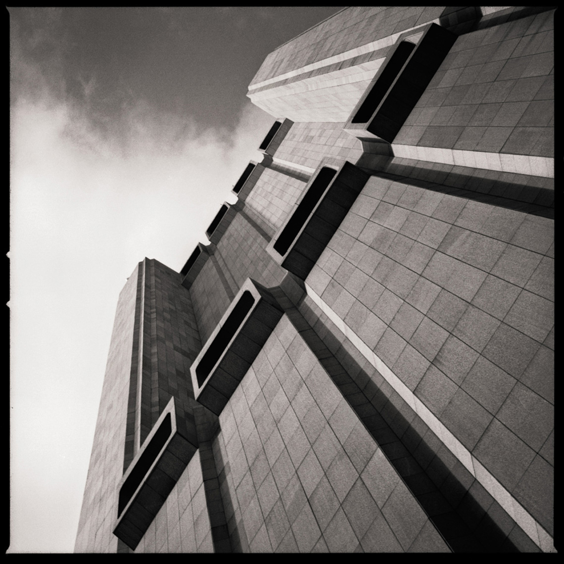 Sean Perry Photographs • AT&T Long Lines Building, from the series Monolith