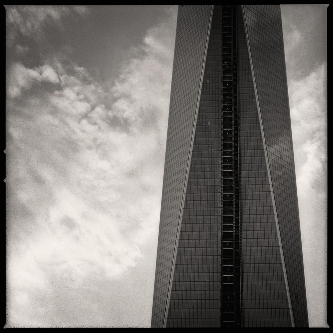 Sean Perry Photographs • One World Trade Center, from the series Monolith