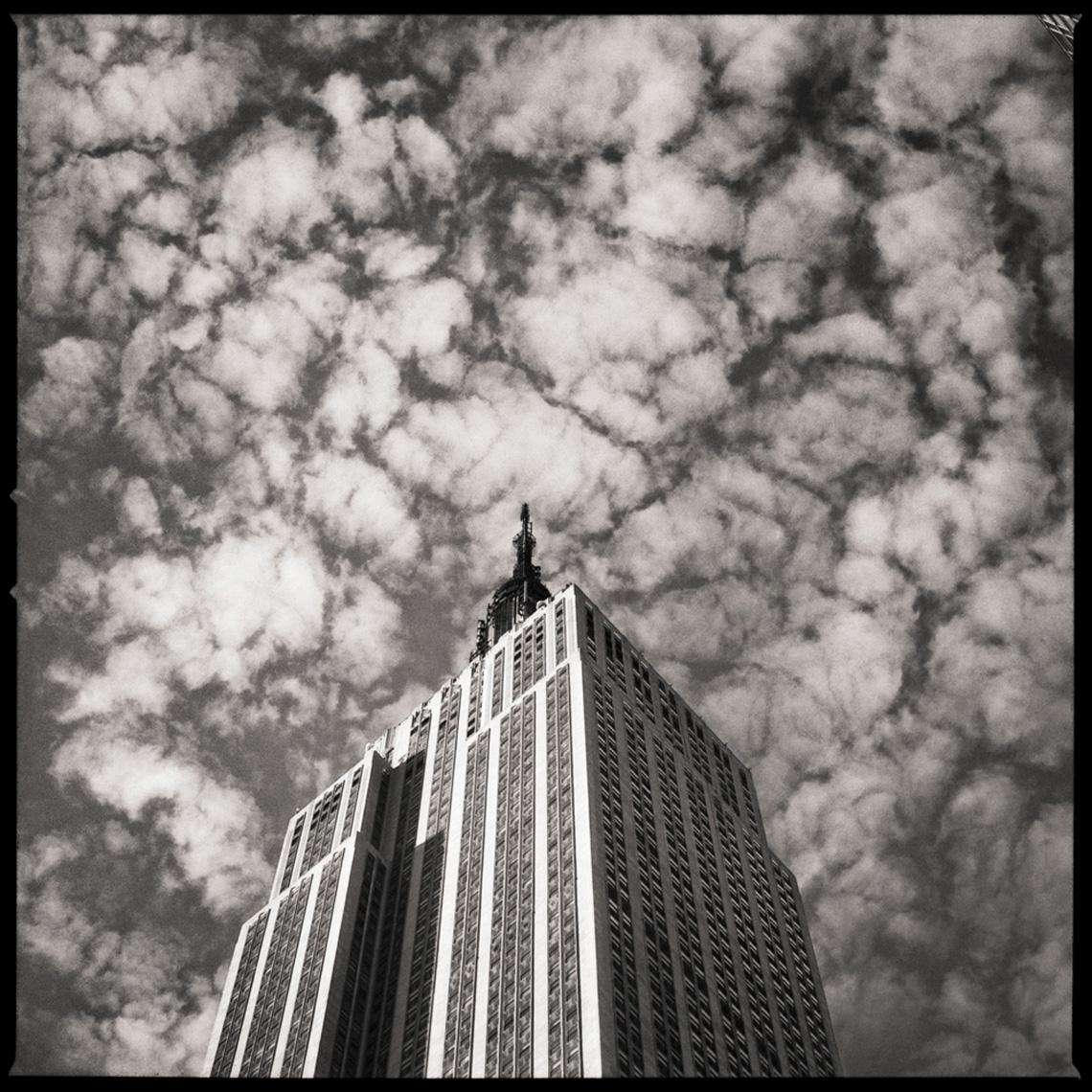Sean Perry Photographs • The Empire State Building, from the series Monolith